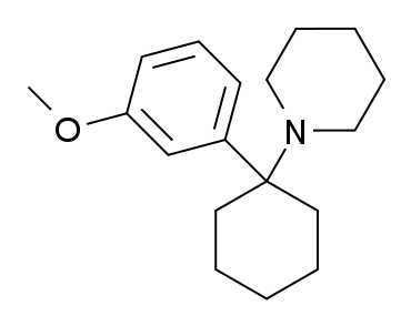 3-MeO-PCP Structure