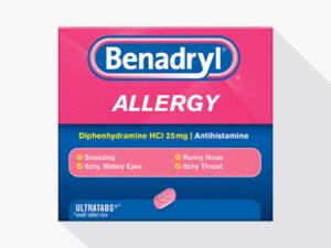 Diphenhydramine (Benadryl)