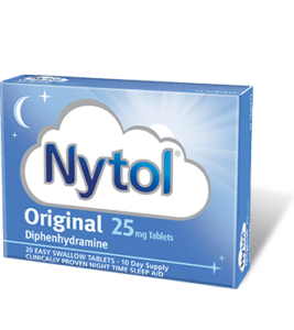 Diphenhydramine (Nytol)
