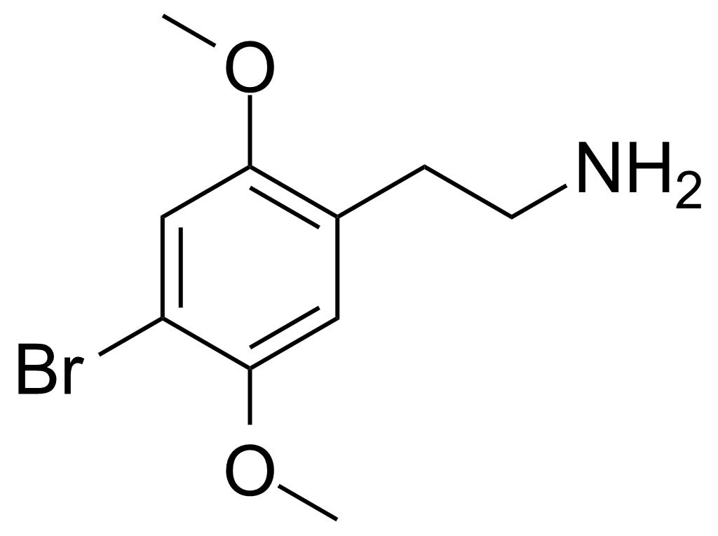 2C-B Structure
