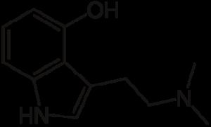 Psilocin Structure