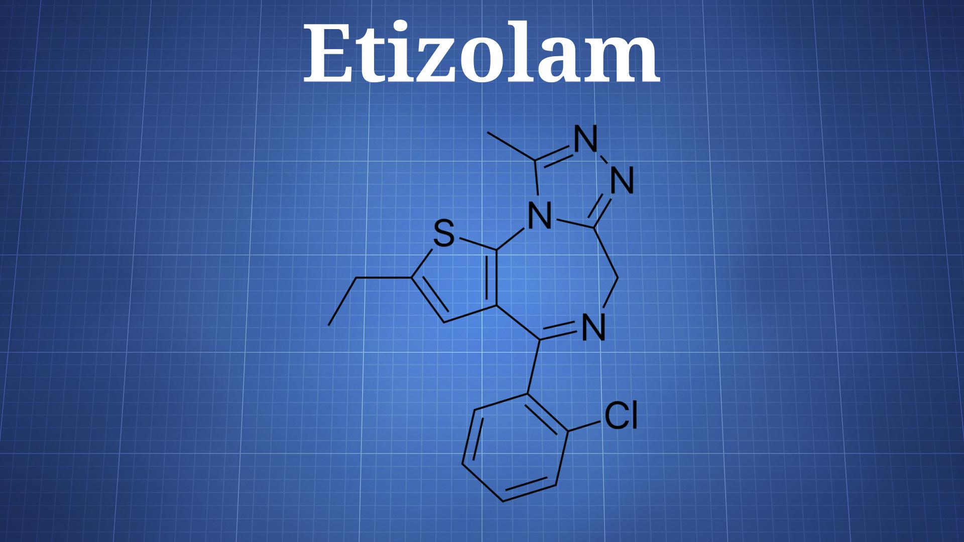Etizolam - The Drug Classroom