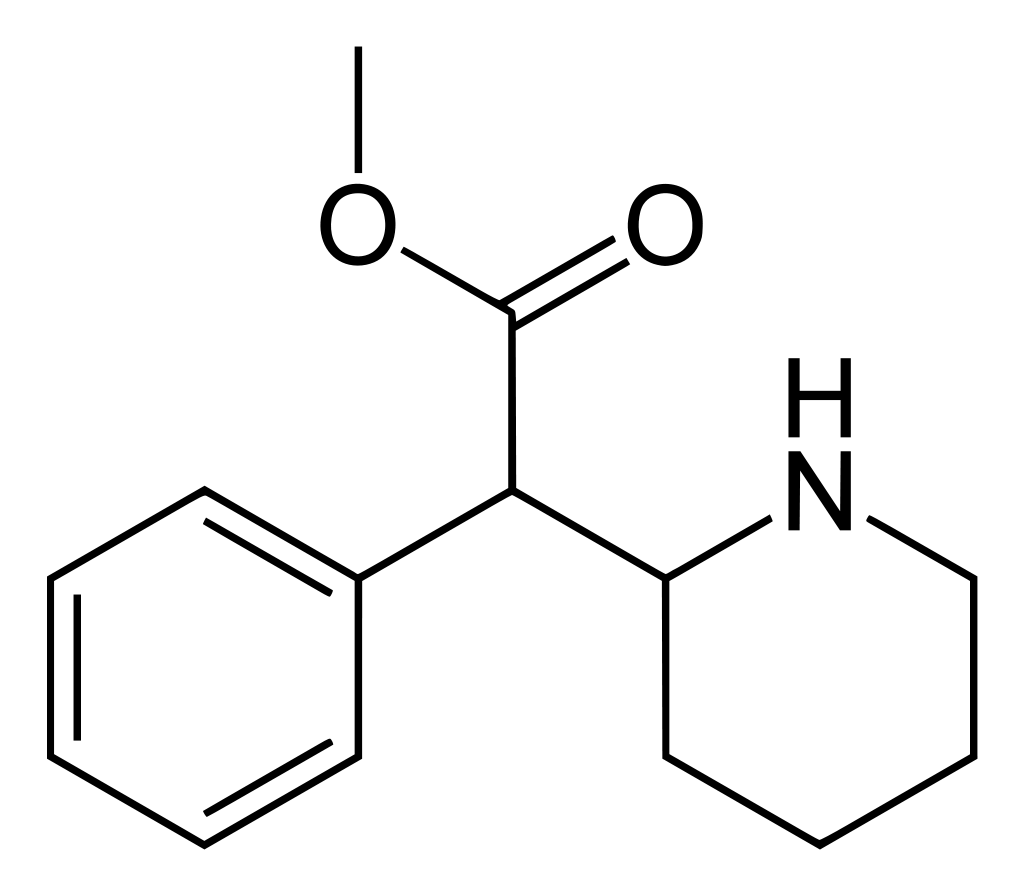 Methylphenidate Structure
