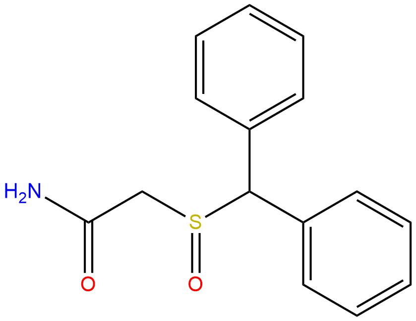 Modafinil Structure