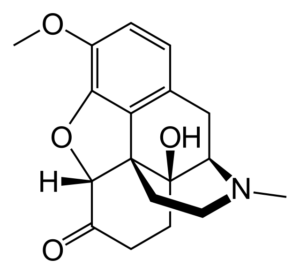 Oxycodone Structure