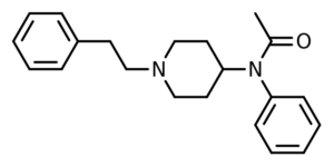 Acetylfentanyl Structure