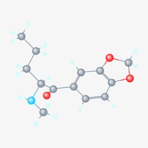 Pentylone Structure