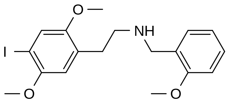 25I-NBOMe Structure