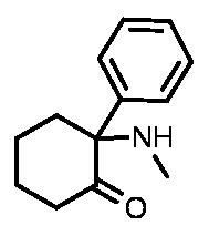 Deschloroketamine Structure