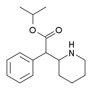 Isopropylphenidate structure
