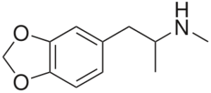MDMA structure