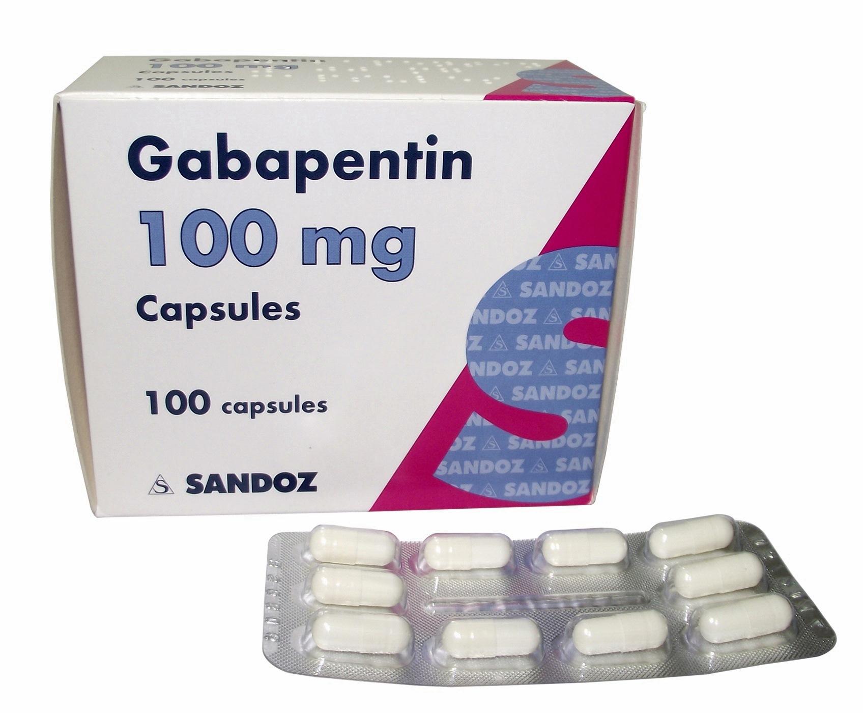 Gabapentin treat anxiety