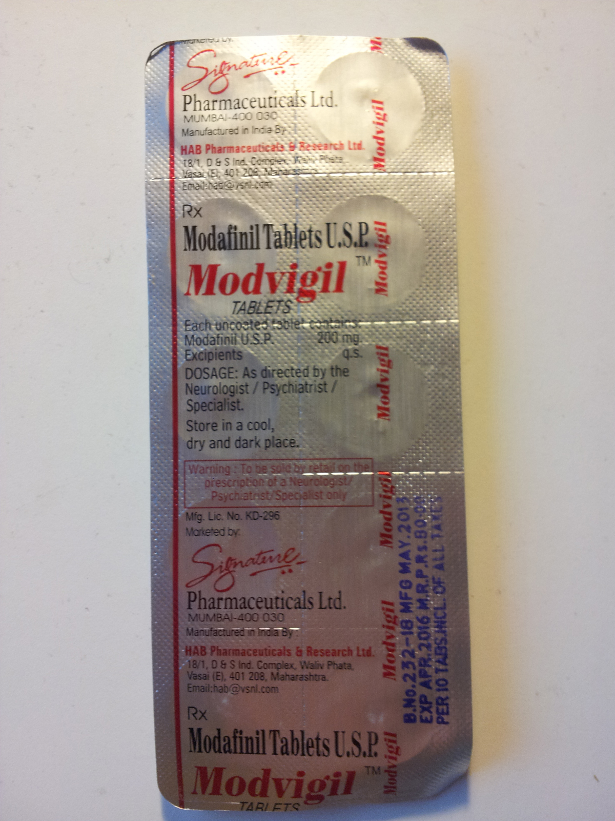 Modafinil The Drug Classroom