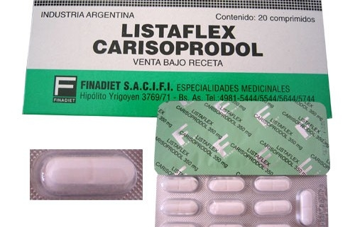 Carisoprodol 350 mg can you get high